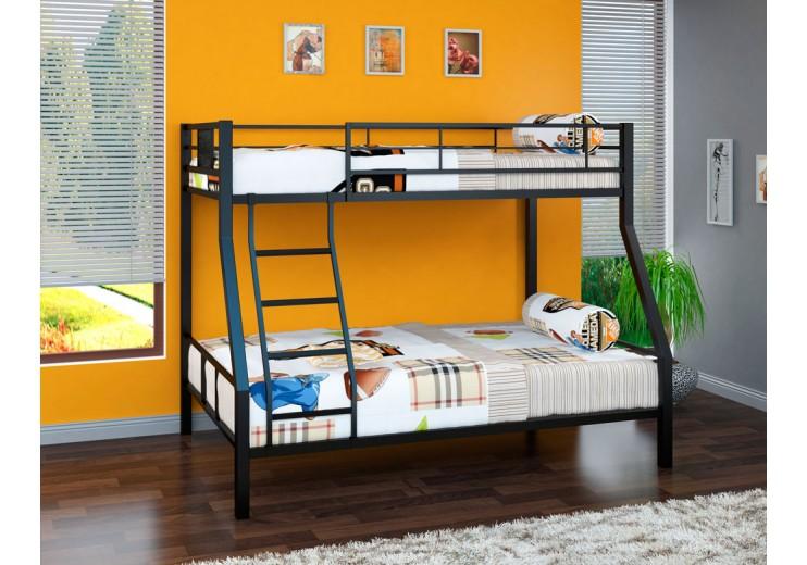 Кровать металлическая двухъярусная Гранада-1 (4 цвета)